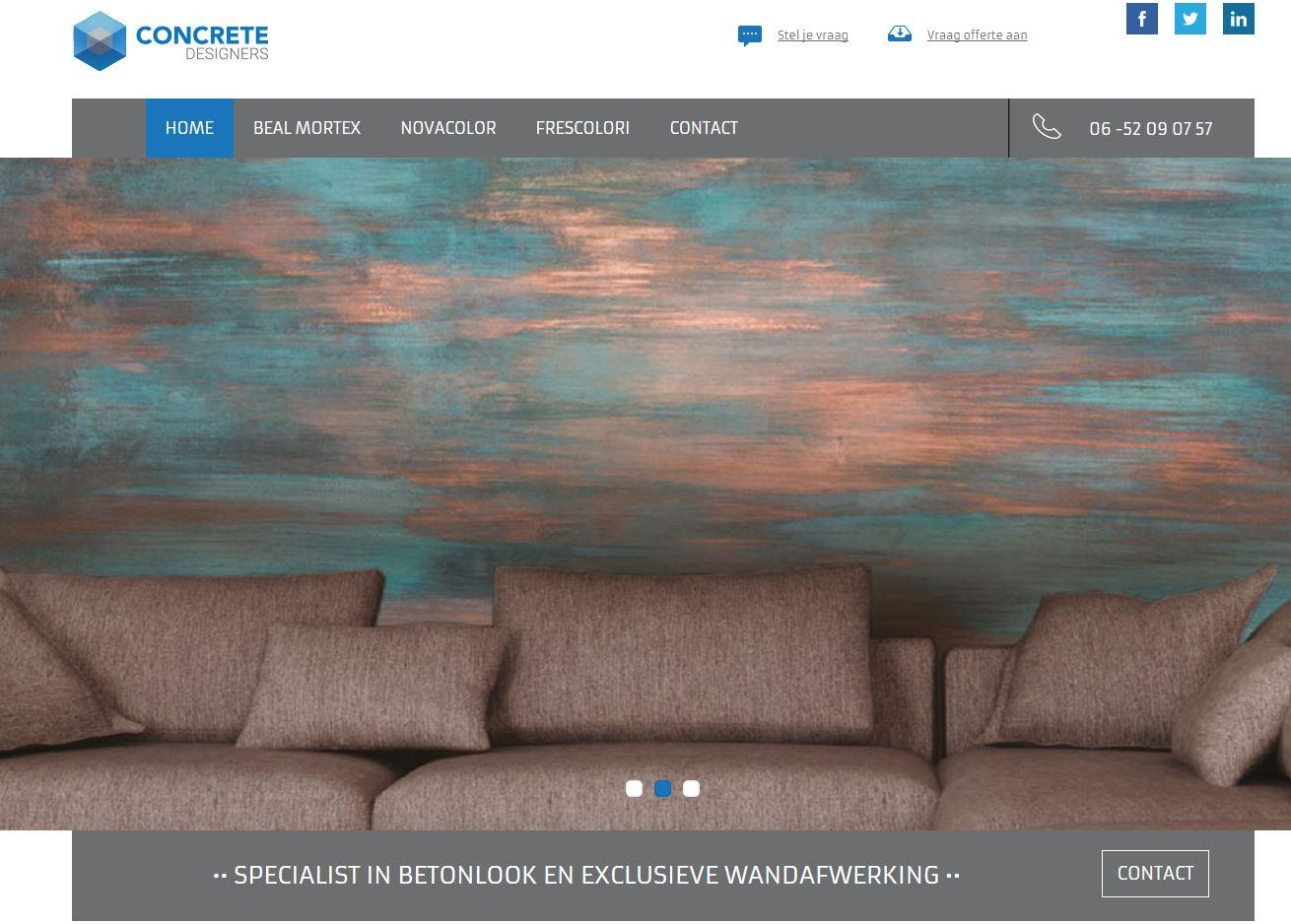 Website Concrete Designers- duidelijkintekst.nl