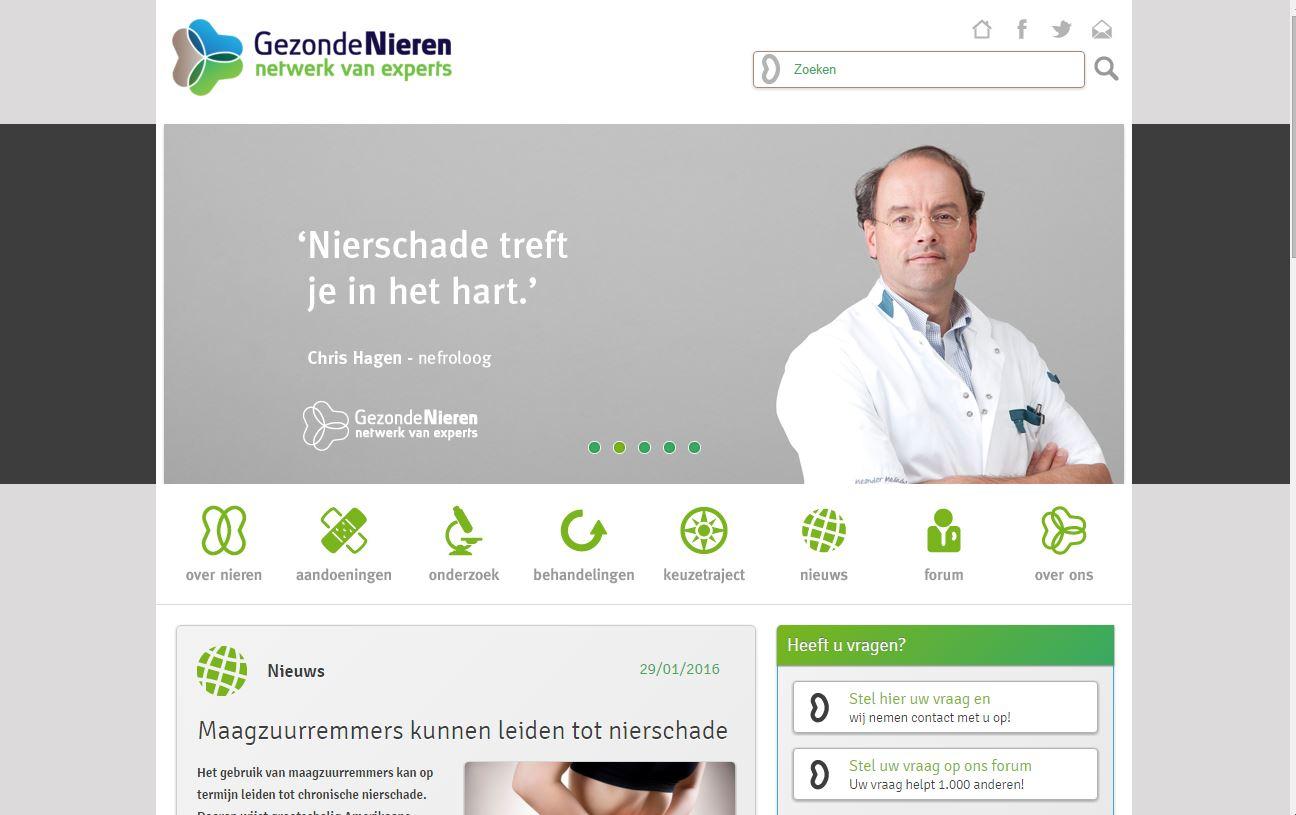 Website Gezonde Nieren