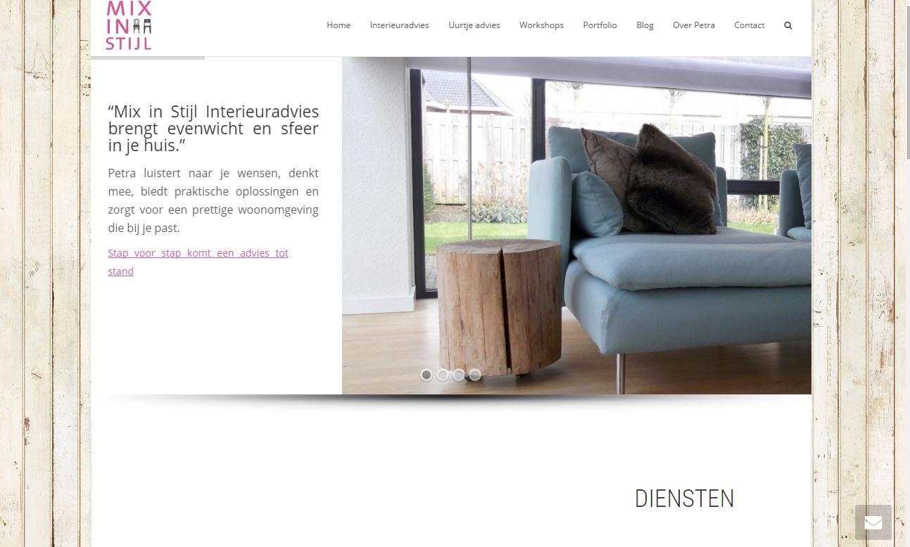 Website Mix in Stijl
