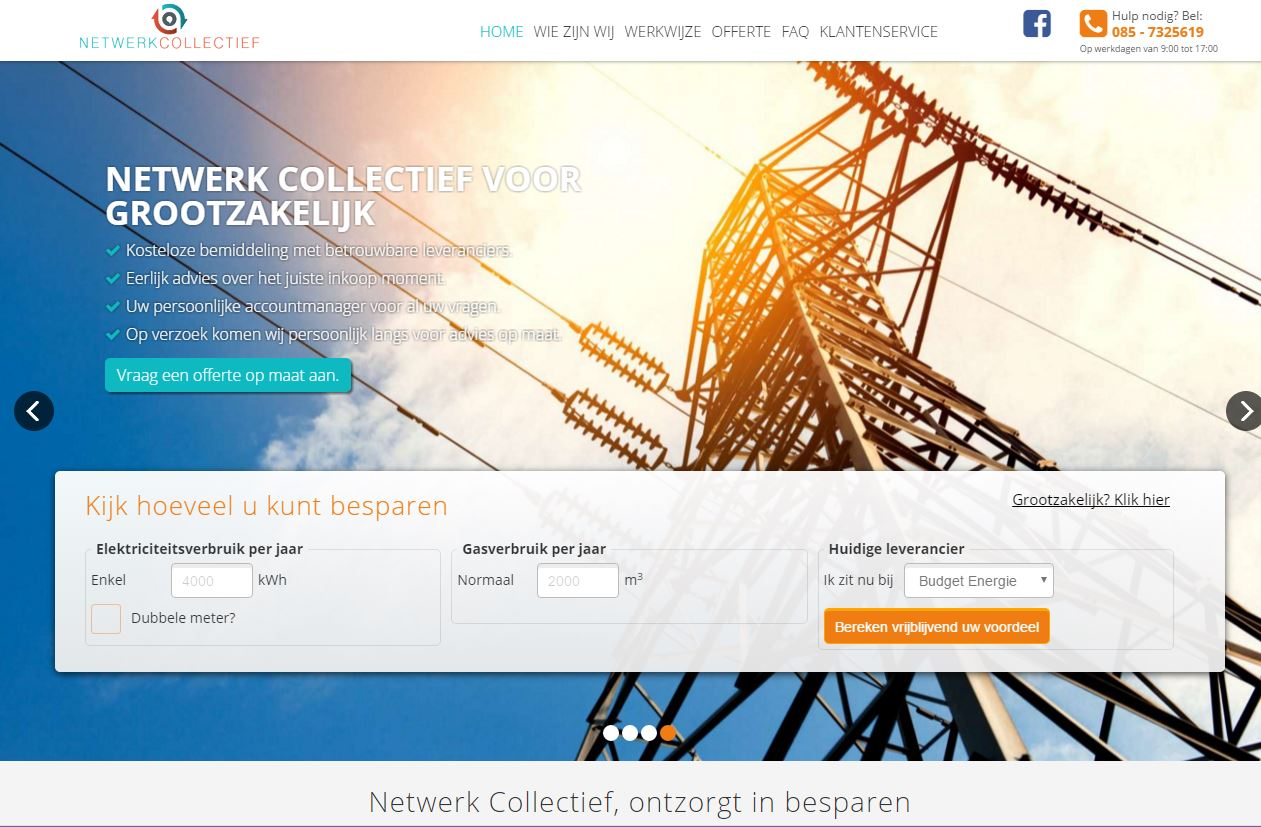 Website Netwerk Collectief