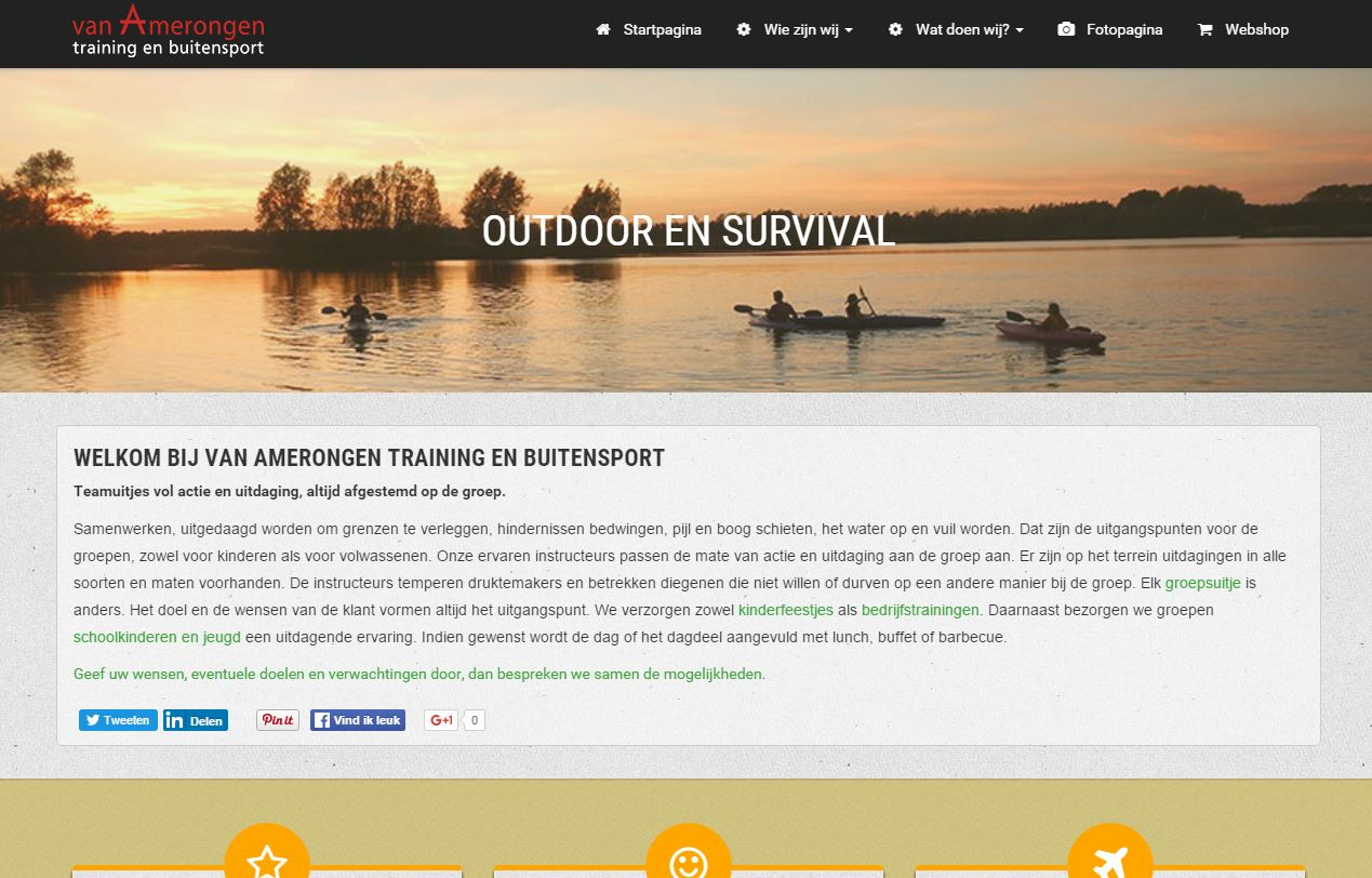 Website Van Amerongen