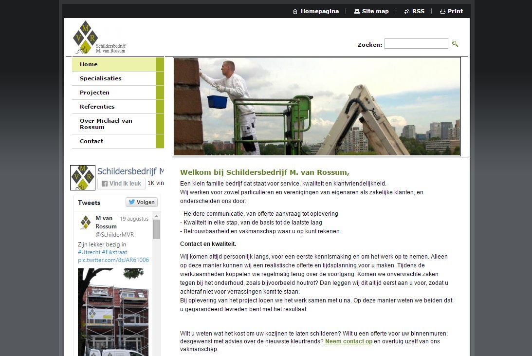 Website Van Rossum